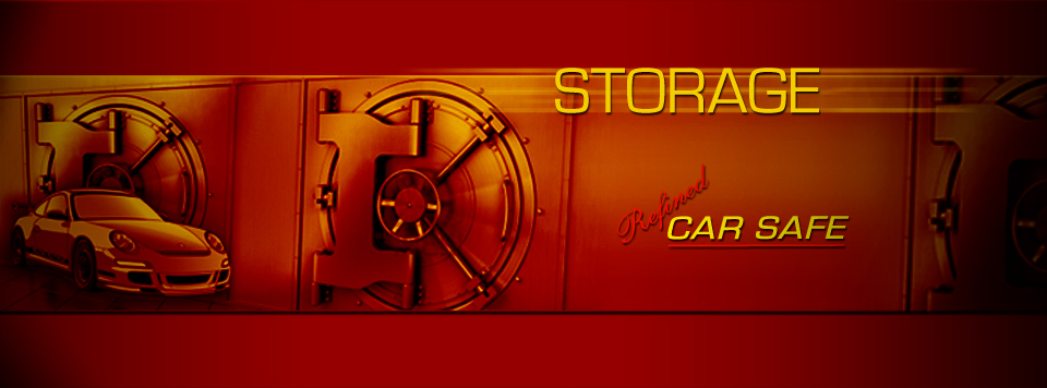 Refined Car Storage Car Safe banner